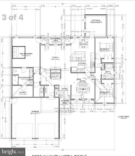 Optional Media room in rear upgrade - 507 HARRISON CIR, LOCUST GROVE
