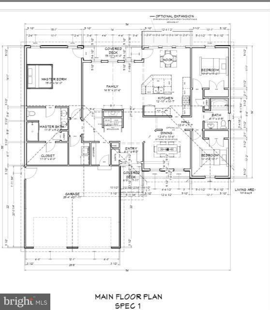 Standard plan - 507 HARRISON CIR, LOCUST GROVE