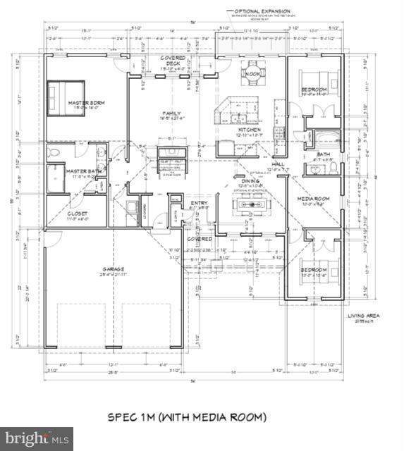 Optional Media room - 507 HARRISON CIR, LOCUST GROVE