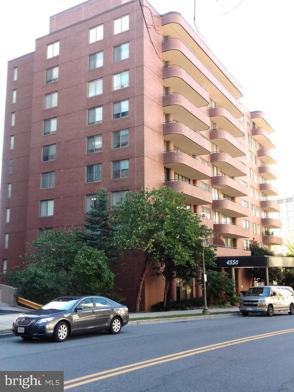 Exterior (Front) - 4550 PARK AVE #1009, CHEVY CHASE
