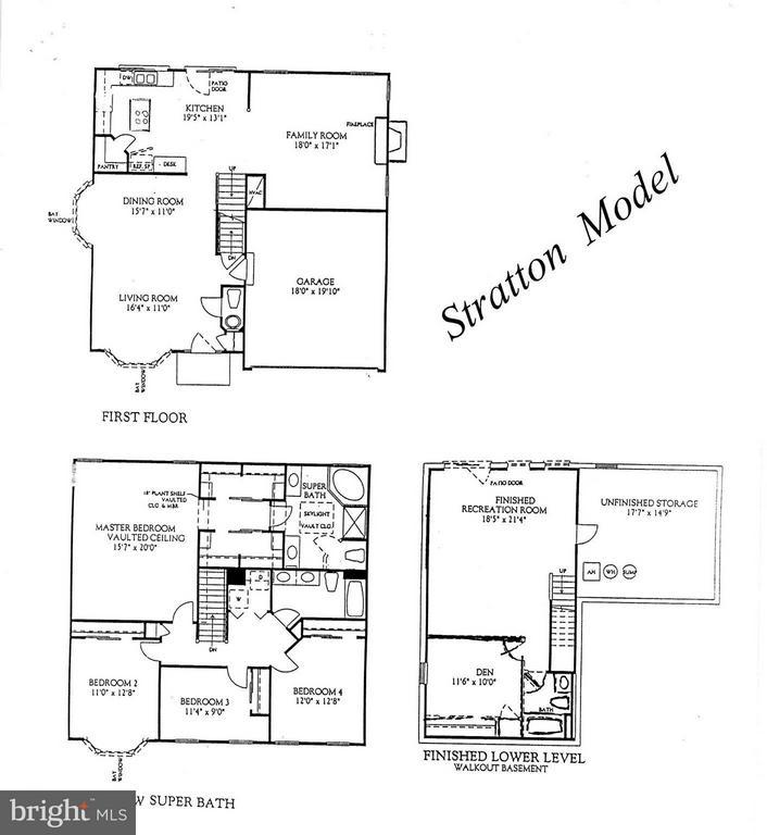 Floorplan - 9202 ZACHARY CT, MANASSAS PARK