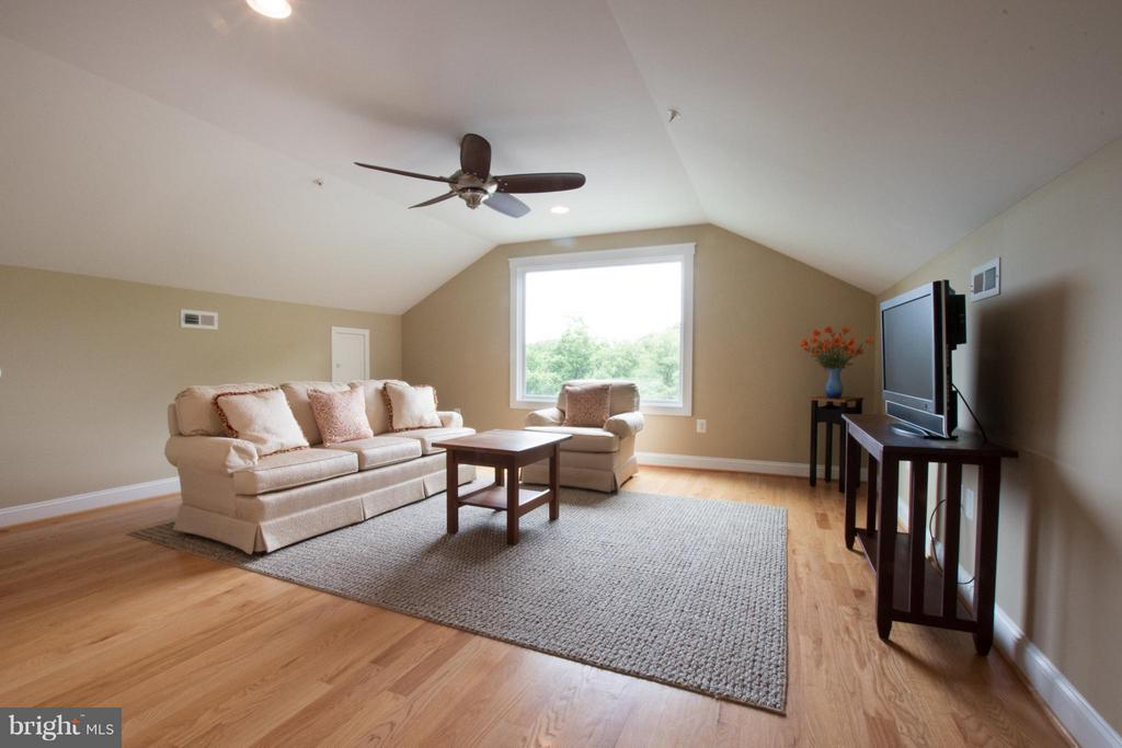 Upper level 2- view of National Cathedral! - 2332 KENMORE ST N, ARLINGTON