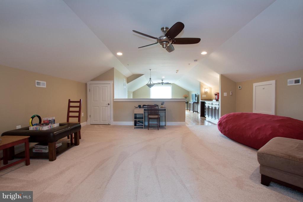 Rec room -w/ sink & beverage refrigerator - 2332 KENMORE ST N, ARLINGTON