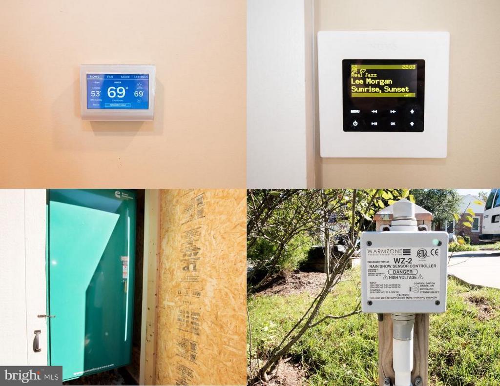 NEST, generator, audio system, heated driveway - 2332 KENMORE ST N, ARLINGTON