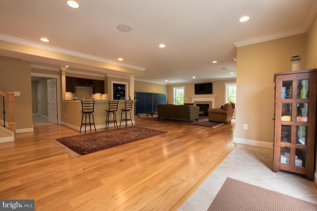 Lower level -wet bar, sound system, bedroom, bath - 2332 KENMORE ST N, ARLINGTON