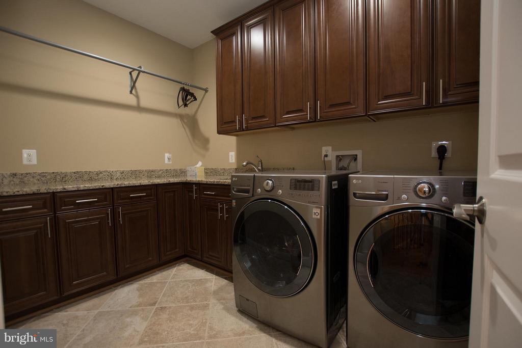 Laundry-main bedroom level/new model LG appliances - 2332 KENMORE ST N, ARLINGTON