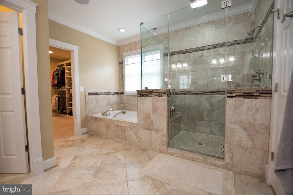 Separate oversized shower and tub - 2332 KENMORE ST N, ARLINGTON