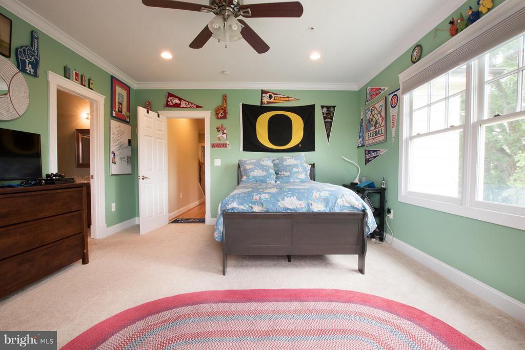 BR3 walk in closet, en-suite bath, blackout shades - 2332 KENMORE ST N, ARLINGTON