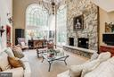Family Room - 8702 OLD DOMINION DR, MCLEAN