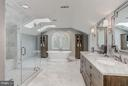 Bath (Master) - 8702 OLD DOMINION DR, MCLEAN
