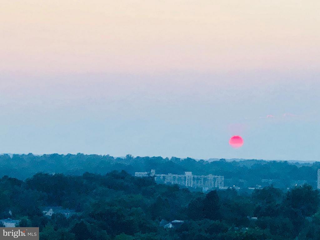 Sunset on your terrace - 4750 41ST ST NW #502, WASHINGTON