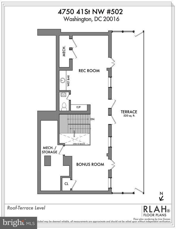 Interior (General) - 4750 41ST ST NW #502, WASHINGTON