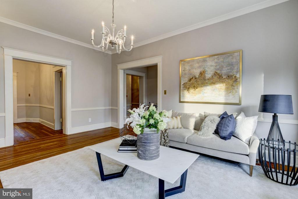 Grand and sophisticated. - 3029 O ST NW, WASHINGTON
