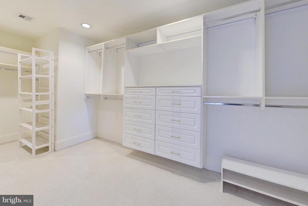 Bedroom (Master) larger walk-in closet - 4750 41ST ST NW #502, WASHINGTON