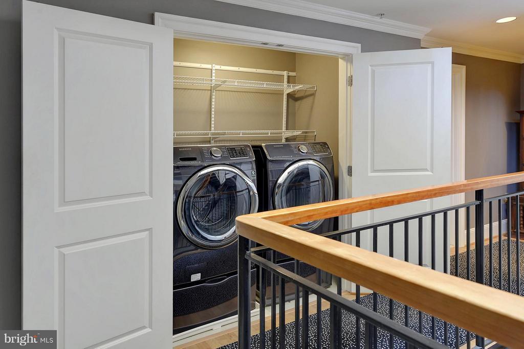 Bedroom level laundry - 4750 41ST ST NW #502, WASHINGTON