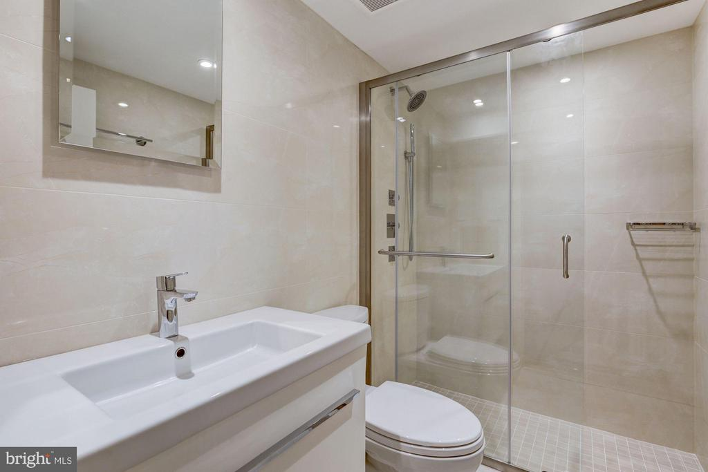 Bathroom of the In-Law Suite - 3029 O ST NW, WASHINGTON