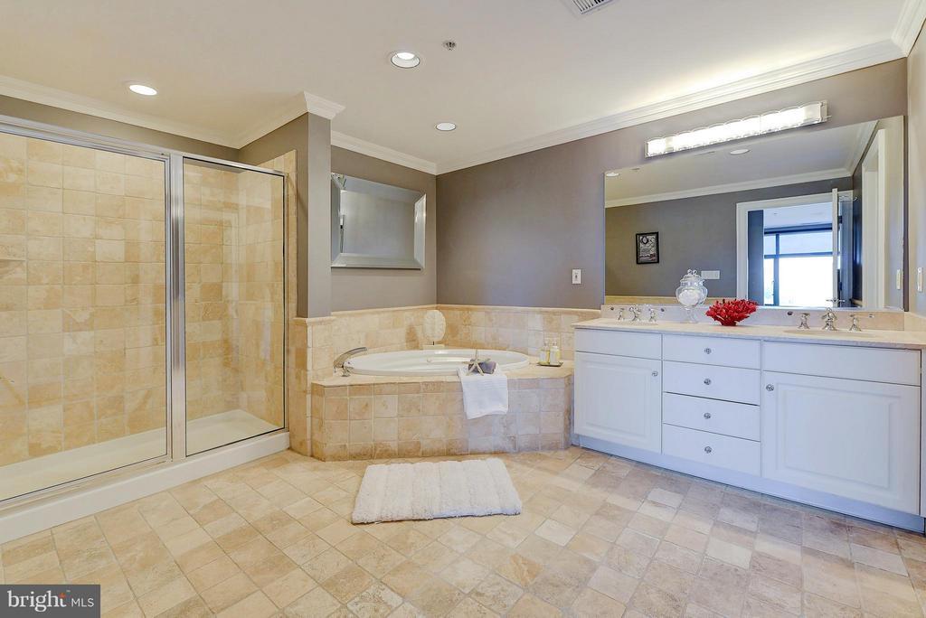 Graciously sized bath (Master) - 4750 41ST ST NW #502, WASHINGTON