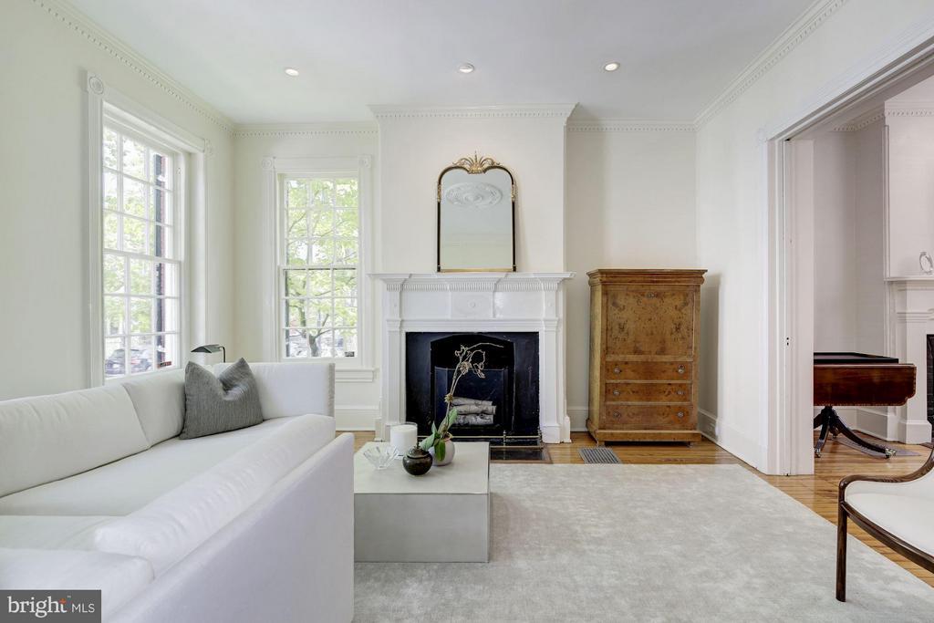 Living Room - 3258 O ST NW, WASHINGTON