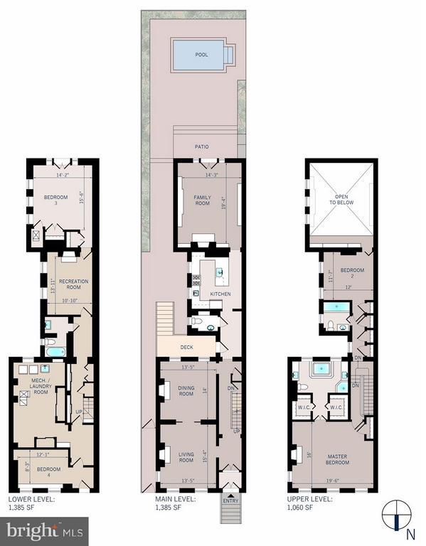Floor plan - 3258 O ST NW, WASHINGTON