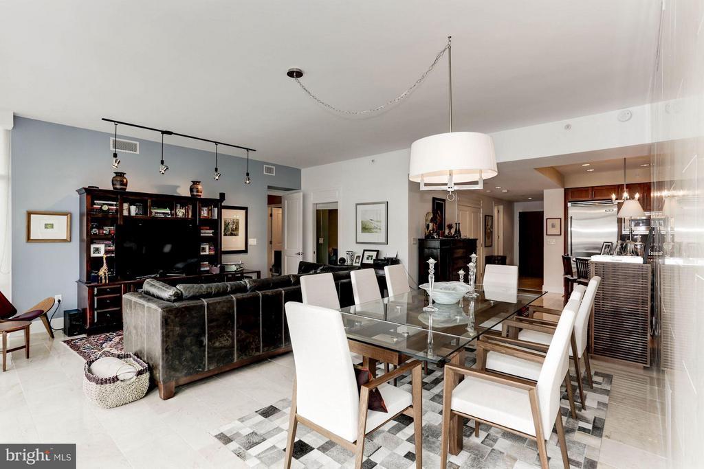 Living Room - 4301 MILITARY RD NW #PH8, WASHINGTON