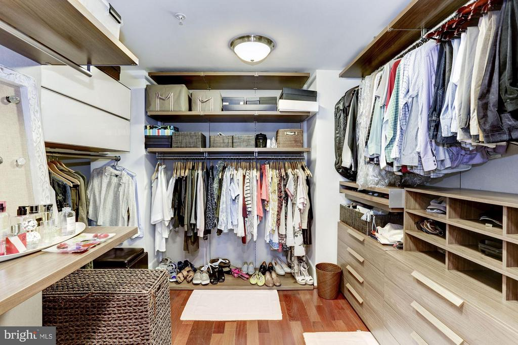 Master Closet - 4301 MILITARY RD NW #PH8, WASHINGTON