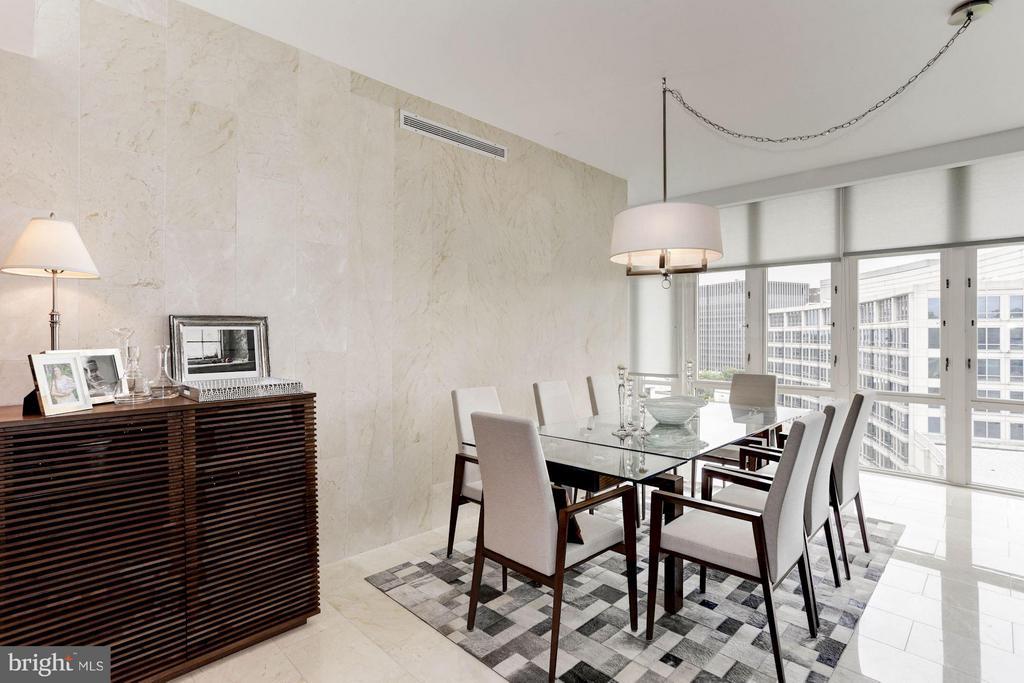 Dining Room - 4301 MILITARY RD NW #PH8, WASHINGTON
