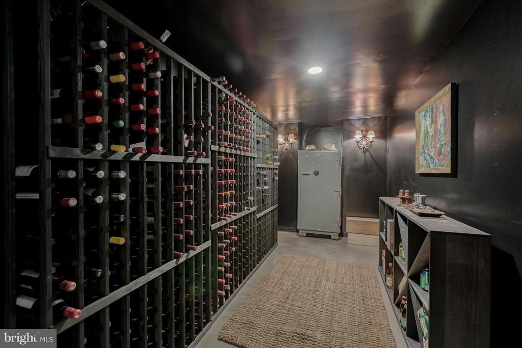 Wine Cellar and Safe - 2310 TRACY PL NW, WASHINGTON