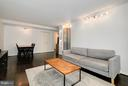 Living Room - 1301 DELAWARE AVE SW #N123, WASHINGTON