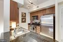 Modern Open Kitchen/Dining/Living w/ SS Appliances - 1021 GARFIELD ST #348, ARLINGTON