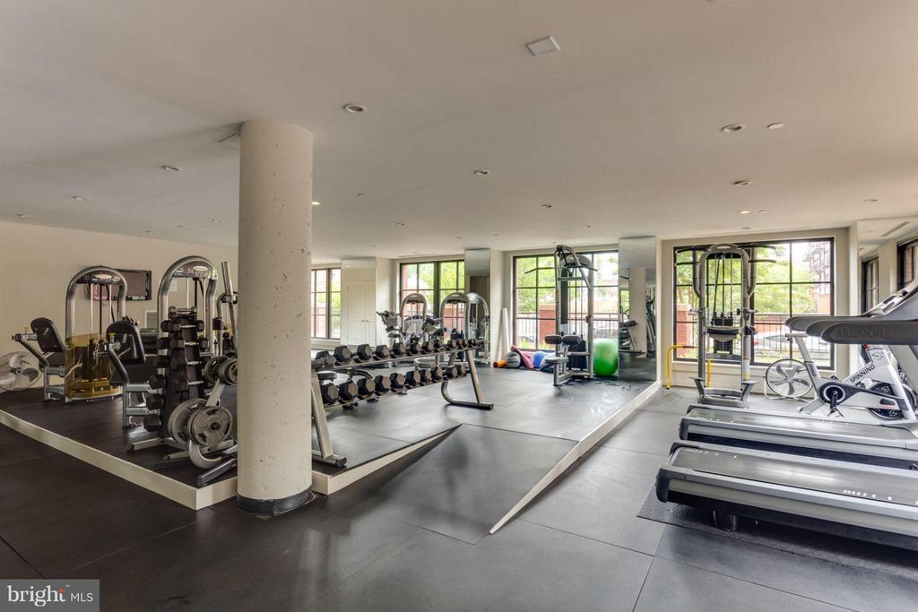 Huge gym - 1600 CLARENDON BLVD #W413, ARLINGTON