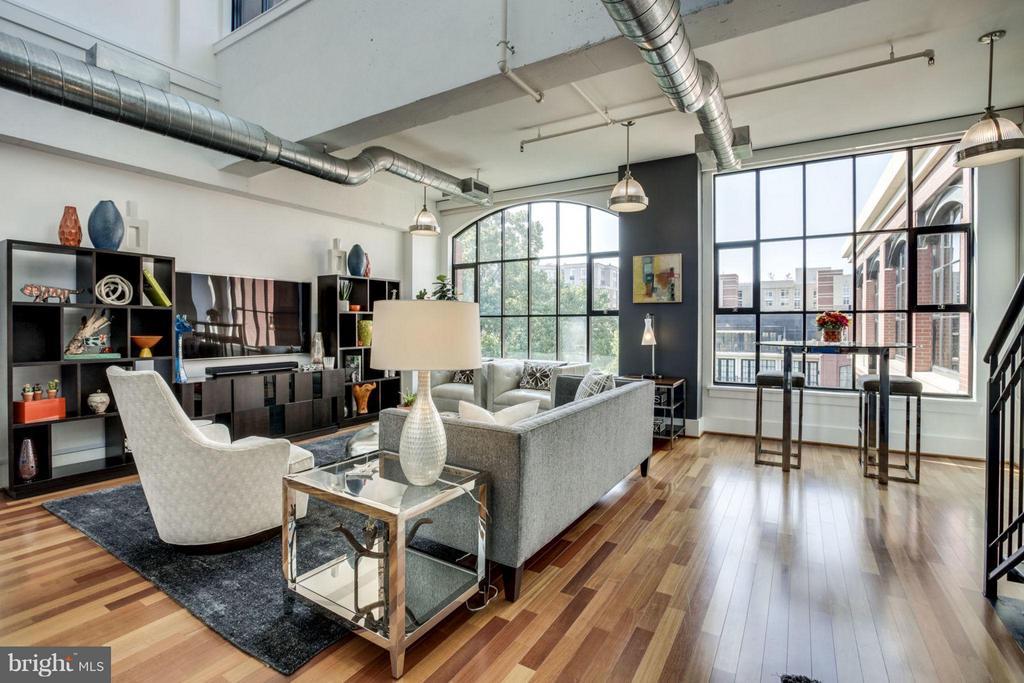Brazilian cherry floors - 1600 CLARENDON BLVD #W413, ARLINGTON