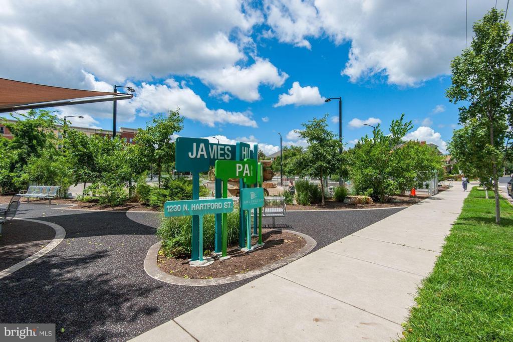 James Hunter Dog Park right next to The Hartford! - 1200 HARTFORD ST N #112, ARLINGTON