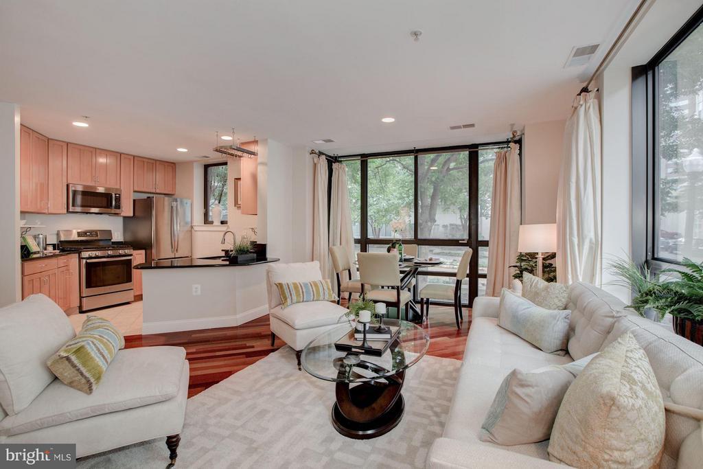 Bright Living Room - 1200 HARTFORD ST N #112, ARLINGTON