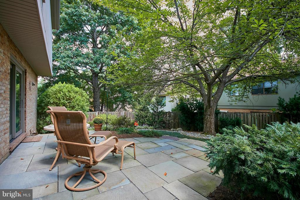 Patio Off the Main Level - 9938 GREAT OAKS WAY, FAIRFAX