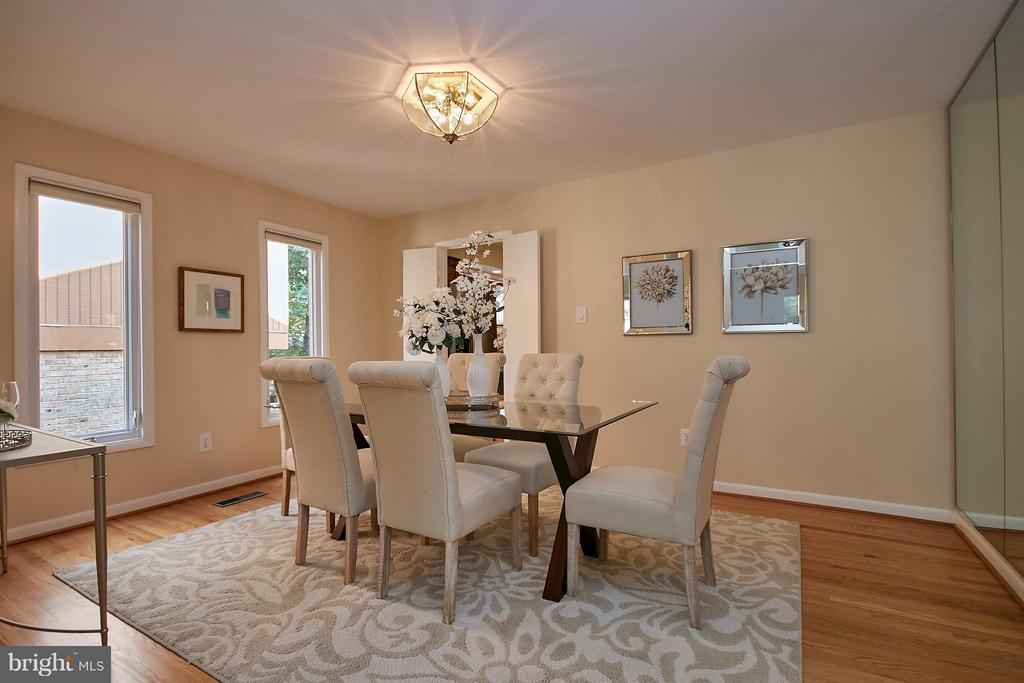 Formal Dining Room - 9938 GREAT OAKS WAY, FAIRFAX