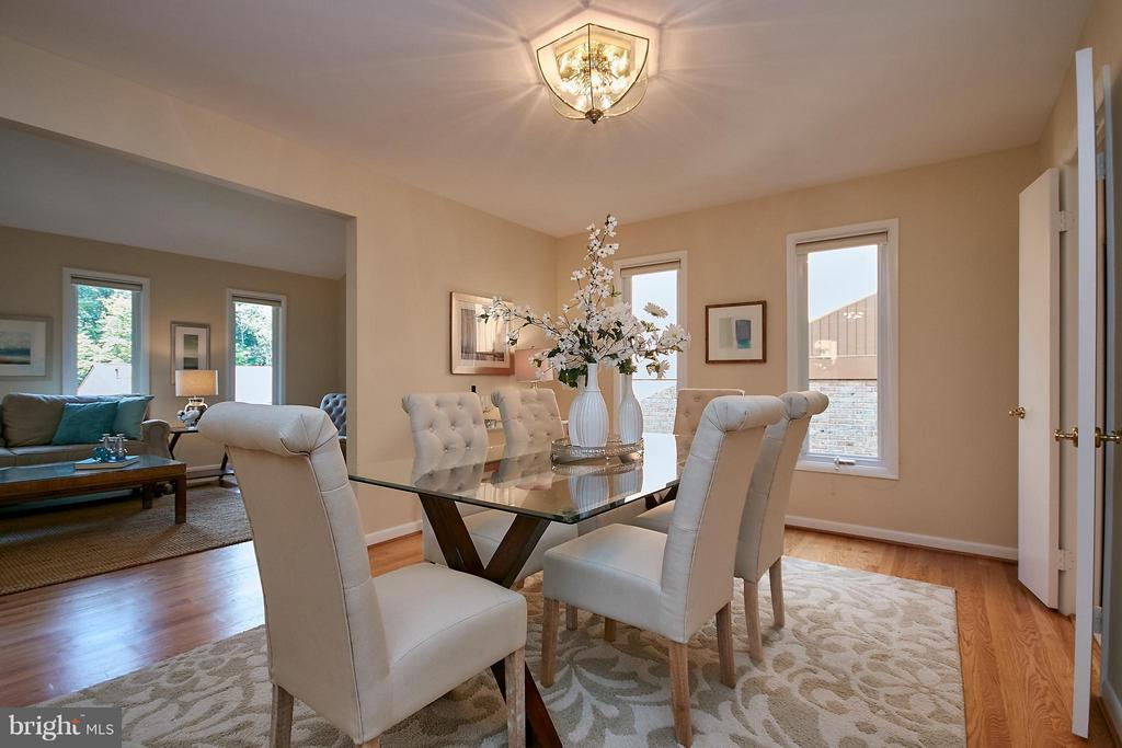 Dining Room - 9938 GREAT OAKS WAY, FAIRFAX