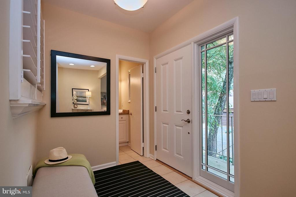 Large Entry Foyer - 9938 GREAT OAKS WAY, FAIRFAX