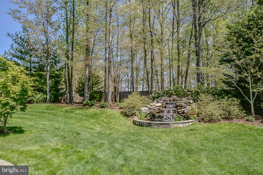 Backyard - 9032 SWANS CREEK WAY, LORTON