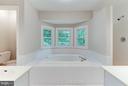 En-Suite Master Soaking Tub - 8205 COLLINGWOOD CT, ALEXANDRIA