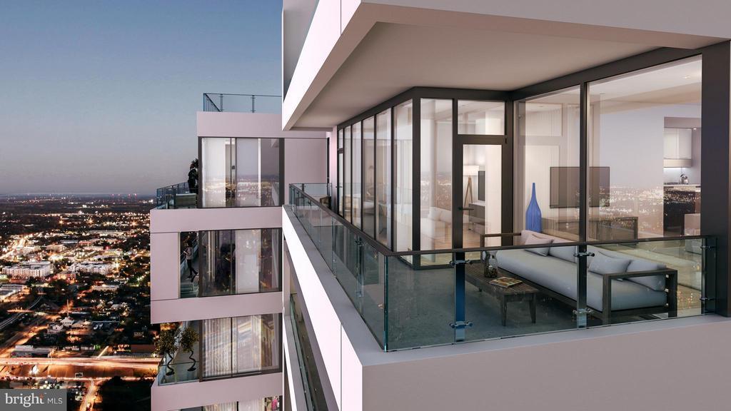 Huge balconies and sweeping views! - 8399 WESTPARK DR #1109, MCLEAN