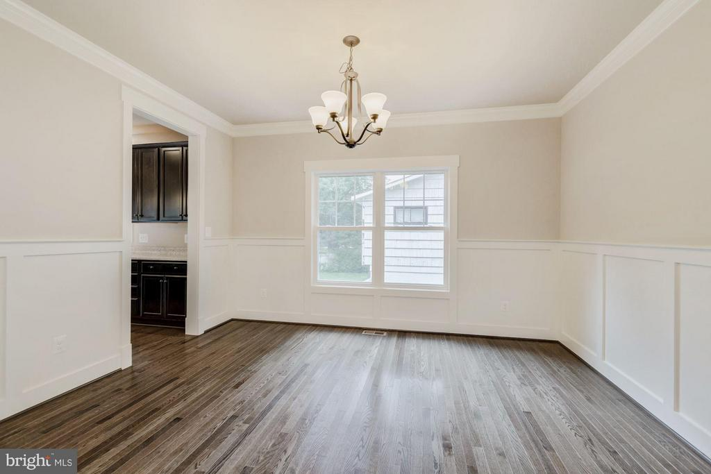 Dining Room - 7504 MCWHORTER PL, ANNANDALE