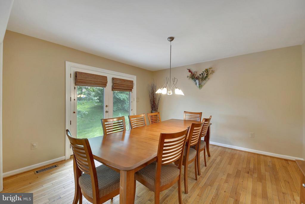 Main Level-Dining Room - 7300 DEER LAKE LN, ROCKVILLE