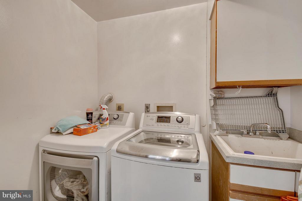 Lower Level 1-Laundry Room - 7300 DEER LAKE LN, ROCKVILLE
