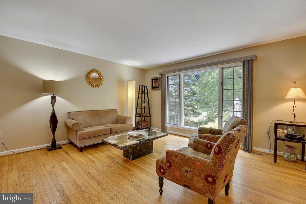Main Level-Living Room - 7300 DEER LAKE LN, ROCKVILLE