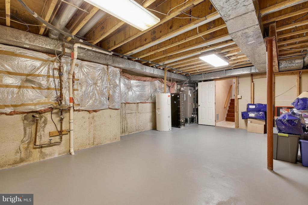 Lower Level 2-Unfinished Storage - 7300 DEER LAKE LN, ROCKVILLE