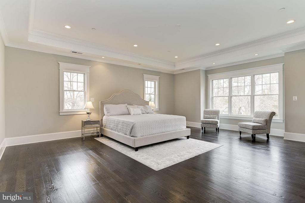 Master Bedroom ... Talk About a Fantasy Suite! - 11201 STEPHALEE LN, ROCKVILLE