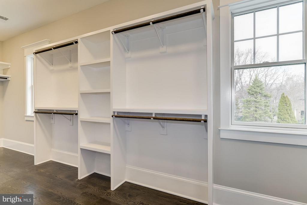 Closets Feature Real Wood Shelving - 11201 STEPHALEE LN, ROCKVILLE