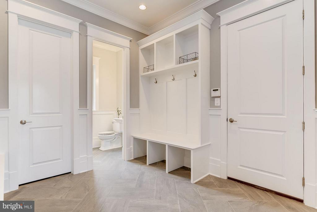 Fabulous Mud Room with Second Powder Room - 11201 STEPHALEE LN, ROCKVILLE