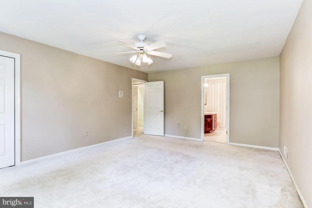 Beautiful and spacious master bedroom. - 15781 PALMER LN, HAYMARKET