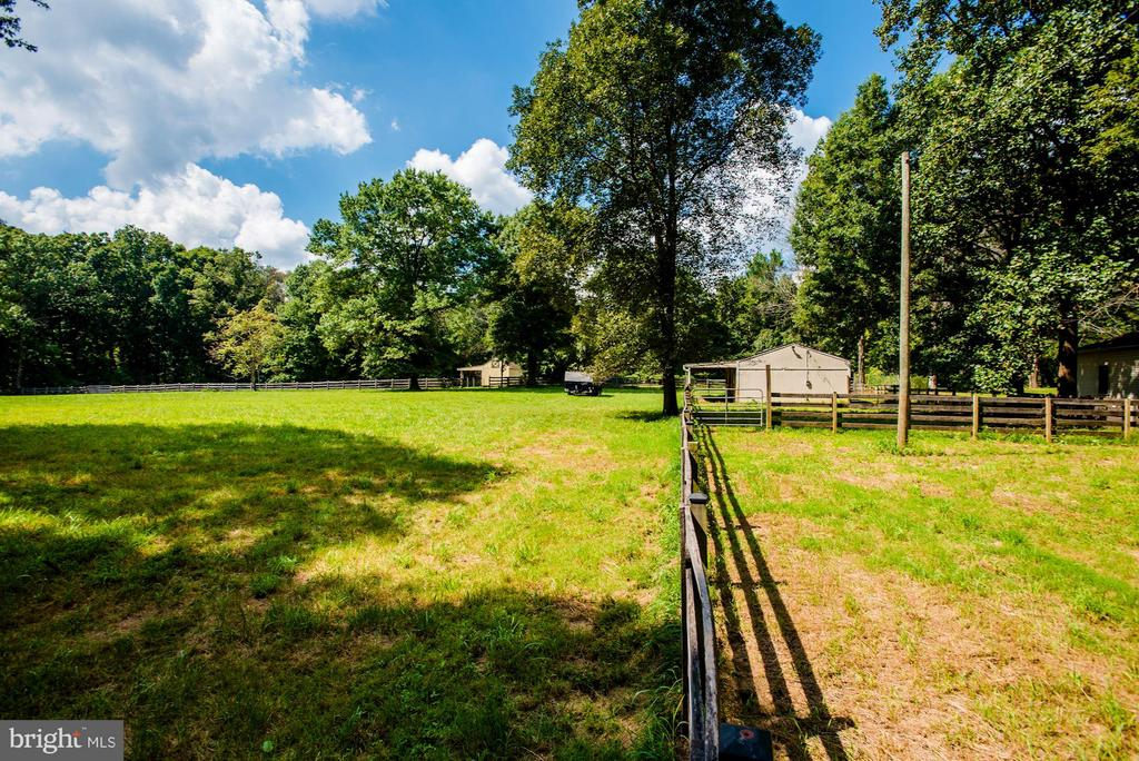 Board fenced, run in sheds, hay shed, jump shed. - 15781 PALMER LN, HAYMARKET